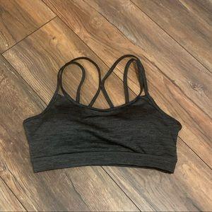 Cross cross sports bra